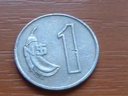 URUGUAY 1 NUEVO PESO 1980 SO (SANTIAGO) CUNI,CEIBO VIRÁG #