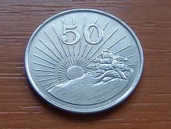 ZIMBABWE 50 CENT 1995 #