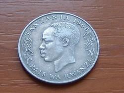 TANZÁNIA 1 SHILINGI 1966 Julius Nyerere #