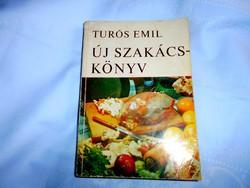 Turós Emil:Új  Szakácskönyv 1972