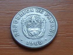 PANAMA 5 CENTÉSIMOS DE BALBOA 1968 #
