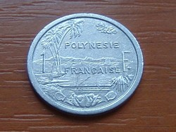 FRANCIA POLINÉZIA POLYNESIE 1 FRANK FRANC 1992 (a) ALU. I.E.O.M. #