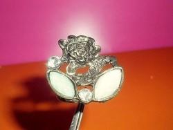 GUESS Opál köves Rózsa gyűrű