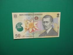 Románia 50 lei 2005 Polimer UNC
