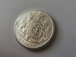 NIUE teknős 62,2 gramm 0,999 ezüst érme,gyönyörű,dupla vastag