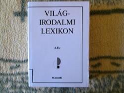 Világirodalmi lexikon ÚJ, sérült borítóval