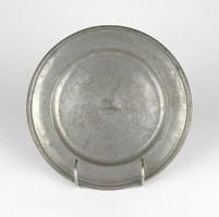 0Z155 Antik jelzett óntányér 21 cm