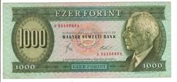 """1000 forint 1983 """"A"""" 1."""
