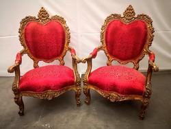 Antik aranyozott királyi trónfotelek!