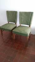 Kárpitozott rugós szék 2 db eladó!