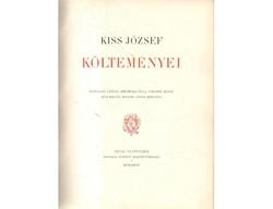Könyvritkaság gyűjtőknek! Kiss József költeményei.