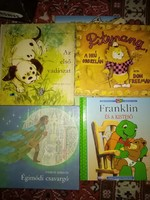 Gyerekkönyvek 11 db