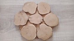 Kézműves fa edényalátét
