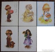 Füzesi Zsuzsa képeslapok