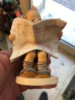 gyönyörű nagyméretű Hummel porcelán, ritkaság.