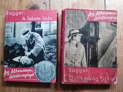 Lucien Rogger krimik 2 db 1930's évek