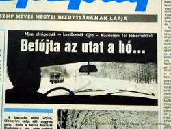 1984 január 29  /  NÉPÚJSÁG  /  SZÜLETÉSNAPRA! E R E D E T I, R É G I Újság Szs.:  12699