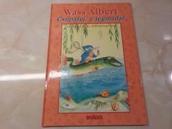 Új! Olvasatlan példány  Wass Albert  Tavak könyve mesesorozat 4.  Csupafej, a jégmadár 2007 Gábor Em