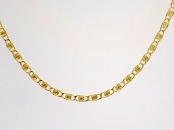 Vésett arany nyaklánc (ZAL-Au84512)