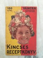 """Kincses receptkönyv - Váncza """"Kincses receptkönyv"""" - Sütöpor"""
