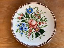 Antik Bélapátfalva Pruzsinszky 1910. falitányér, tányér 25 cm.