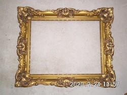 Áttört mintás,antik képkeret 35x45 cm-es falcmérettel