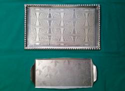 Retro alumínium tálcák