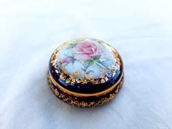 Gyönyörű Limoges  porcelán szelence