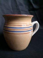 Antik,  lüszter mázas porcelán csupor, bögre