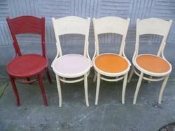 Thonet jellegű szék 4 db- 17 000-ft ért!!! / Régi szék /