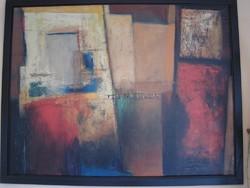 Hatalmas modern festmény