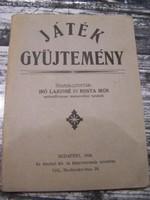 Játékgyűjtemény. Bp., 1928- Ritkaság!