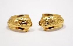 Vésett arany fülbevaló (ZAL-Au70428)