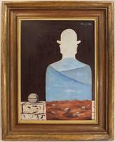 René Magritte Szürrealista Festmény