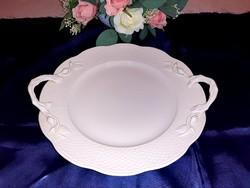Herendi fehér bogyós süteményes tál 31 cm