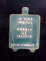 Zsolnay : Villányi boros flaska