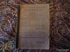 """Dr Kereki M.né """"   Kultúra """" irodalmi ...kölcsön könyvtára Pécs 12 x 17 cm"""