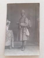 Régi fotó gyalogsági katona fénykép
