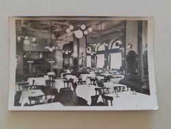 Régi fotó Bodó kávéház Budapest képeslap