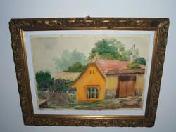 LAMPÉRT: Sárga ház