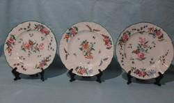 3 db szép lapos tányér - R. Briggs Boston