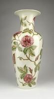 0Z211 Vajszínű Zsolnay porcelán váza 34 cm