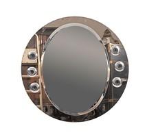 Design üveg keretes tükör beépített világítással
