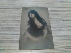 Antik képeslap. 1927.