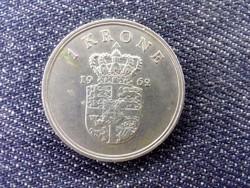 Dánia IX. Frigyes 1 Korona 1962 C♥S (id17148)