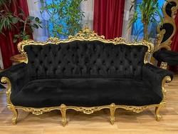 4 részes barokk ülőgarnitúra