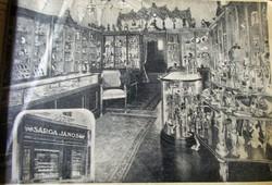SÁRGA JÁNOS CSÁSZÁR KIRÁLY UDVARI SZÁLLÍTÓ KUK ÉKSZER - EZÜST KATALÓGUS ÁRJEGYZÉK BUDAPEST 1913