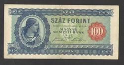100 forint 1946.  SZÉP, RITKA BANKJEGY!!