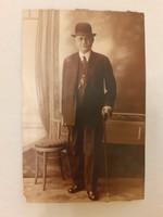 Régi férfi fotó 1920 körül fénykép
