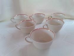 3213 - Royal Ivory KPM vajszínű porcelán teáscsésze